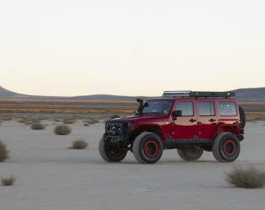 Lifted Offroad Jeep