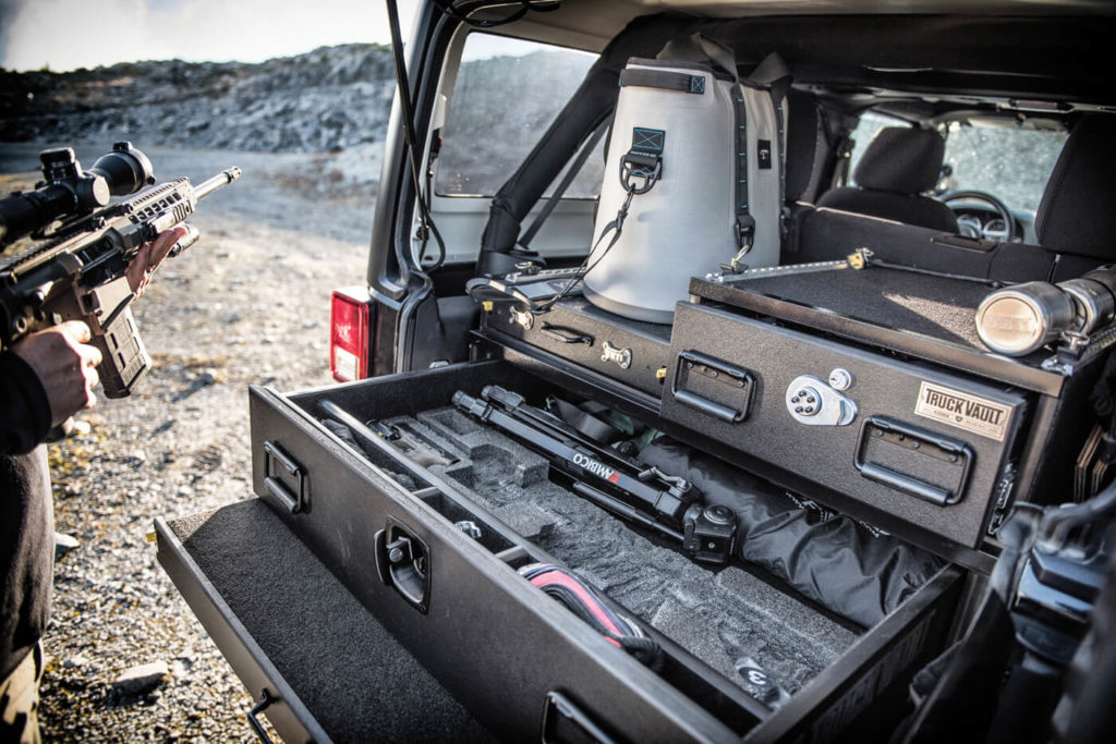 Truck Vaults Secure Storage On The Trail Tread Magazine