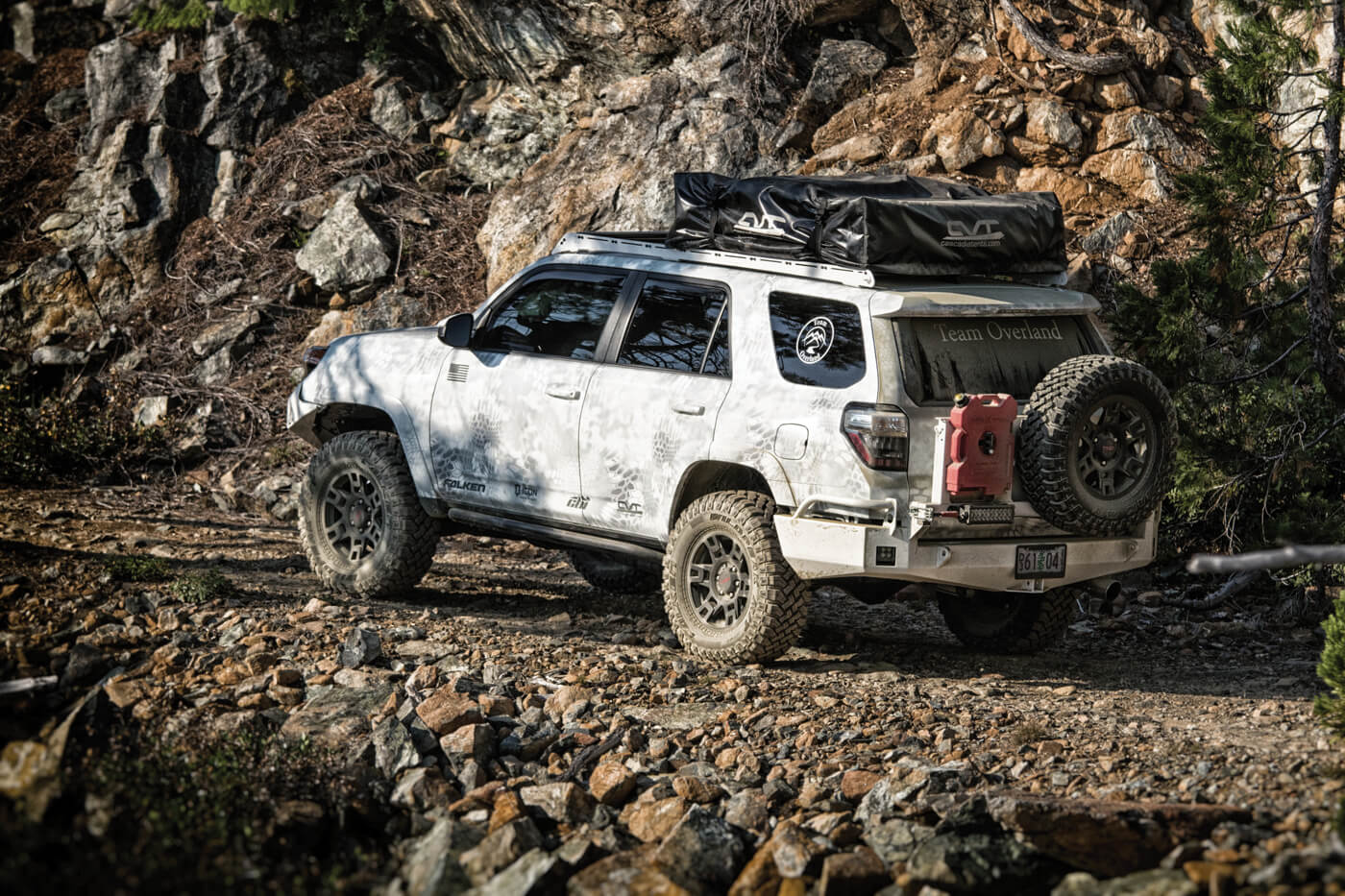 Ready 4 All: A Veteran's 4Runner - TREAD Magazine