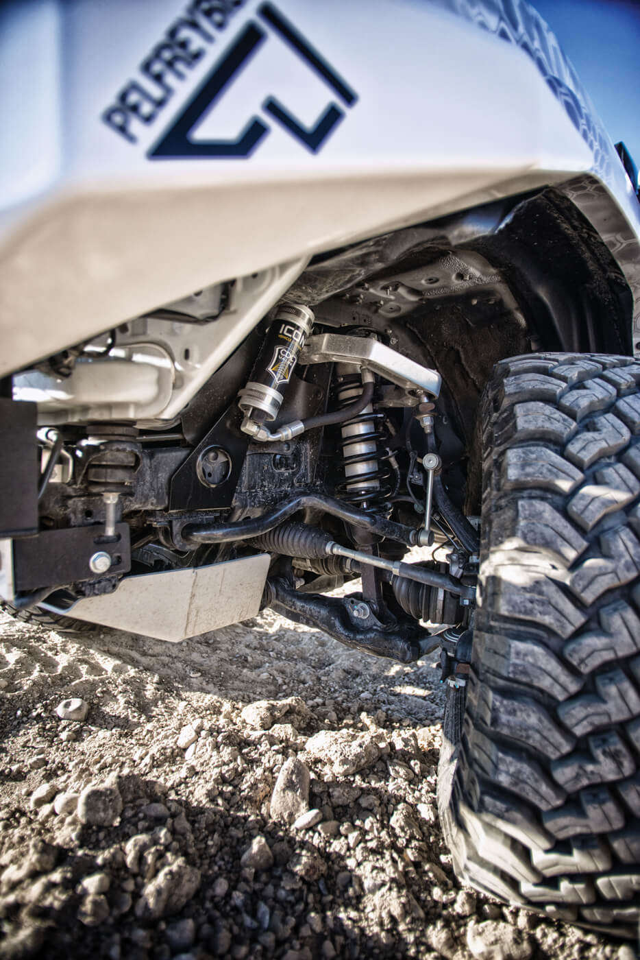 The Icon Stage 7 suspension kit is all about maximizing off-road functionality.