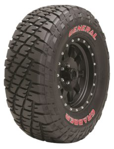 off-road tire: GENERAL GRABBER