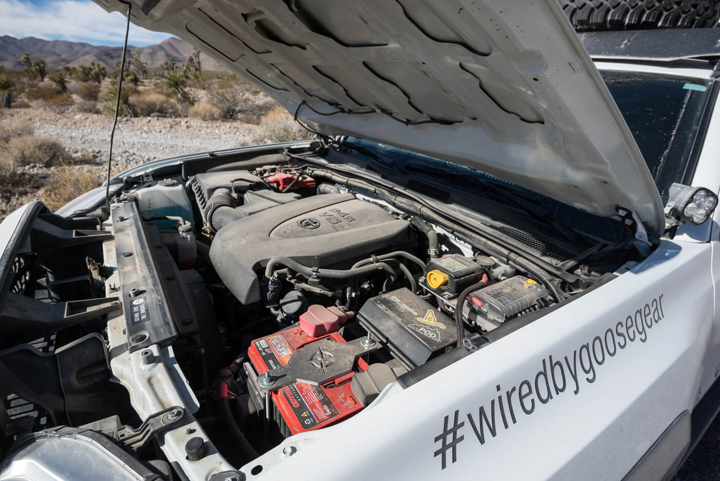 Goose Gears Cozy Tacoma Bed Dual Battery Wiring Increased Capability