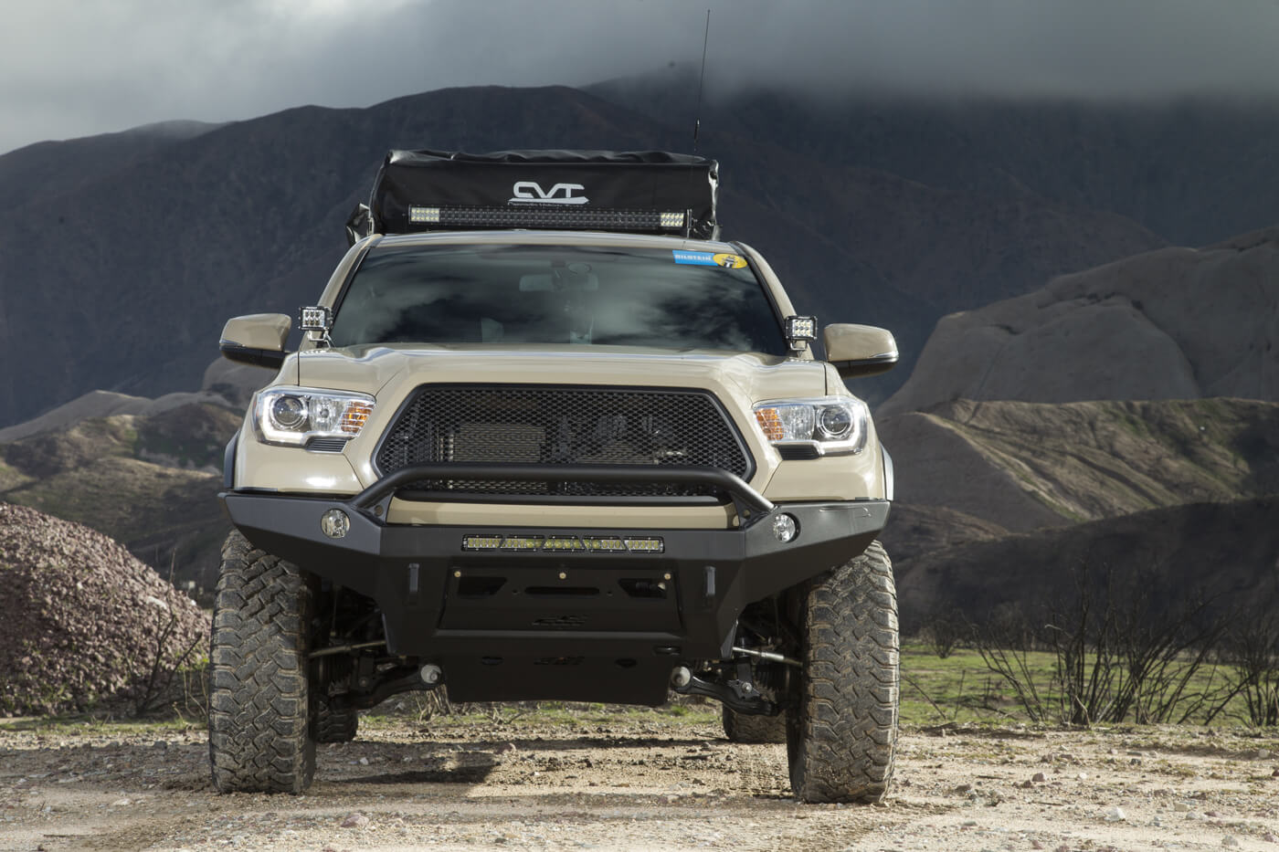 Quicksand: From the Desert to the Show in a 2016 Tacoma