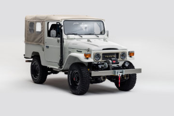 The FJ Company Land Cruiser FJ The Aspen Project front three quarter
