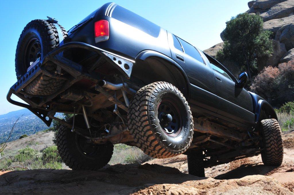 tire in air