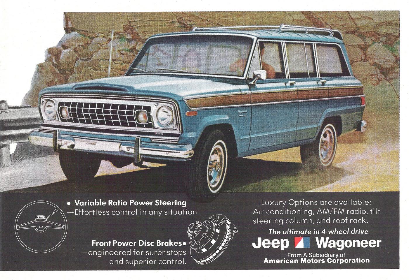 Classic Advisory Wagoneer Tread Magazine Amc And Jeep Transmissions