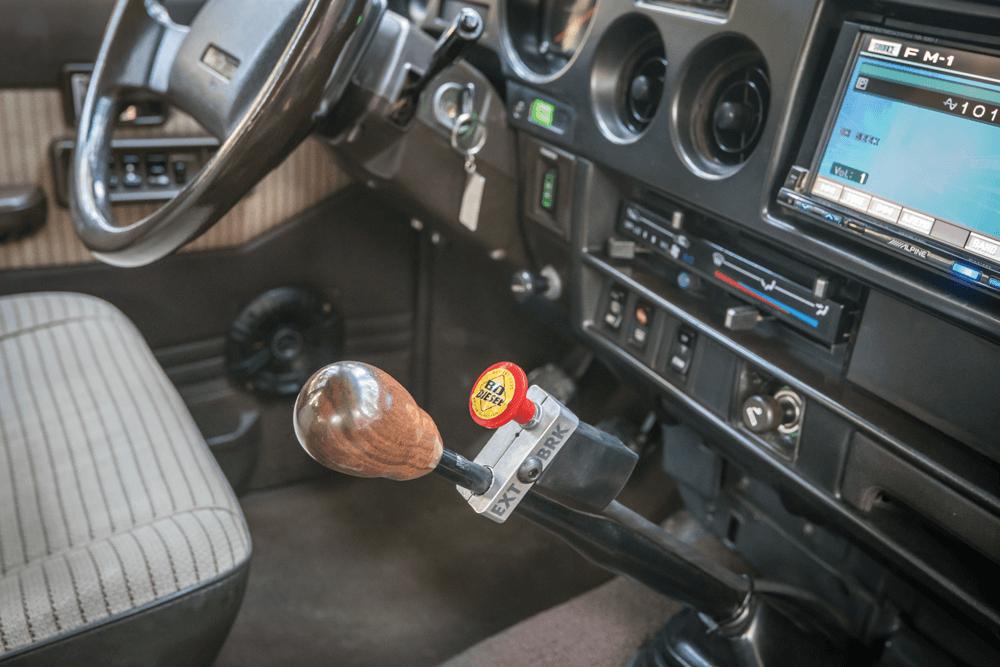 five-speed shifter BD diesel exhaust brake