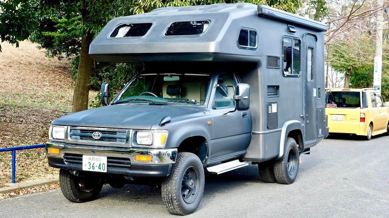 1994 JDM Toyota Hilux Camper - TREAD Magazine