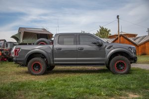 Toyo Tires Trailpass: Gray Ford Raptor by Lawn Dart Design