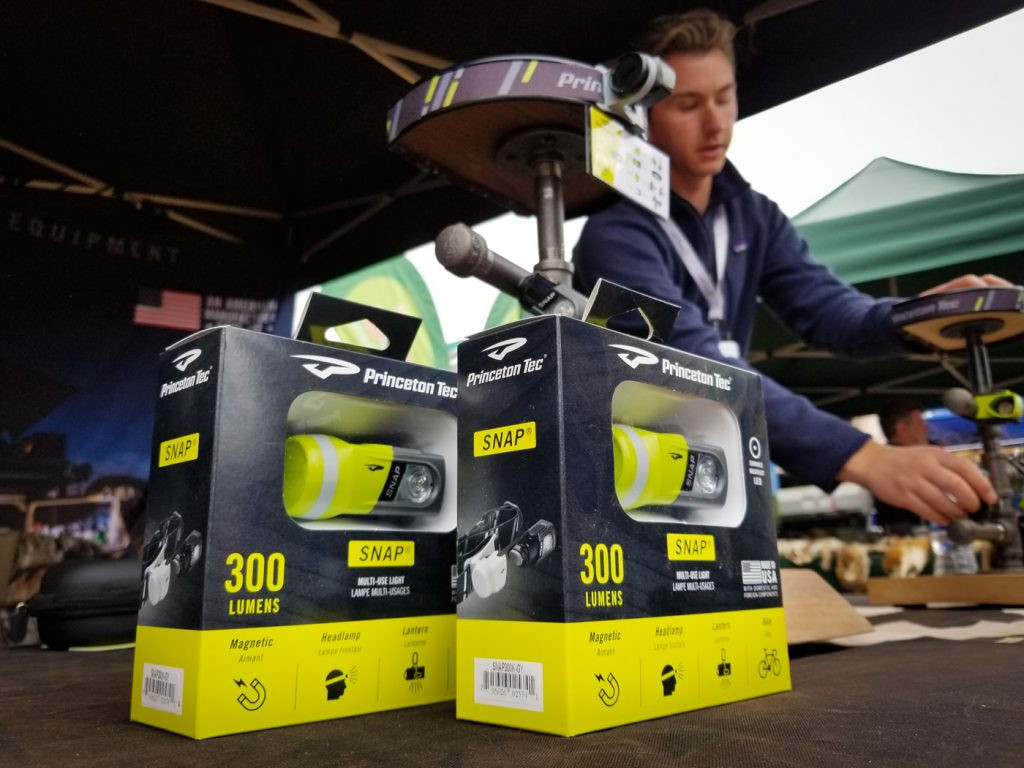 2019 Overland Expo East: Princeton Tec SNAP multi-functional headlamp