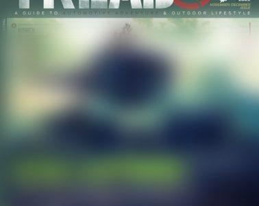 Tread Issue 22 Cover November December 2019