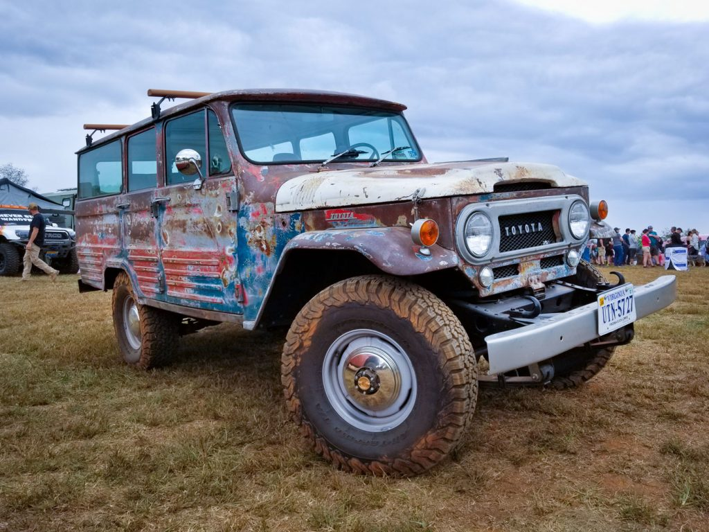 2019 Overland Expo East: 1973 Toyota Land Cruiser FJ55