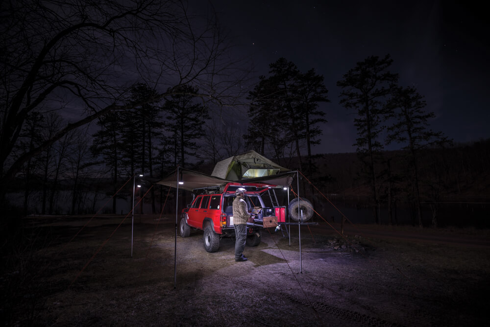 Foxwing awning by Oztent/Rhino Rack