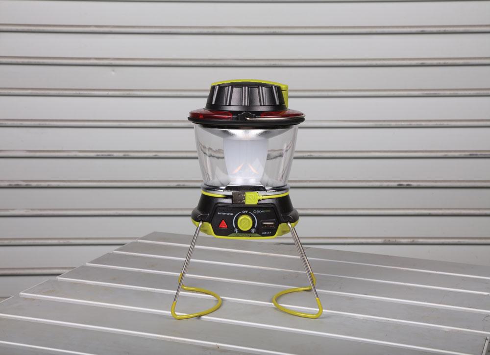Campsite lantern - Goal Zero Lighthouse 400 Lantern and USB Power Hub