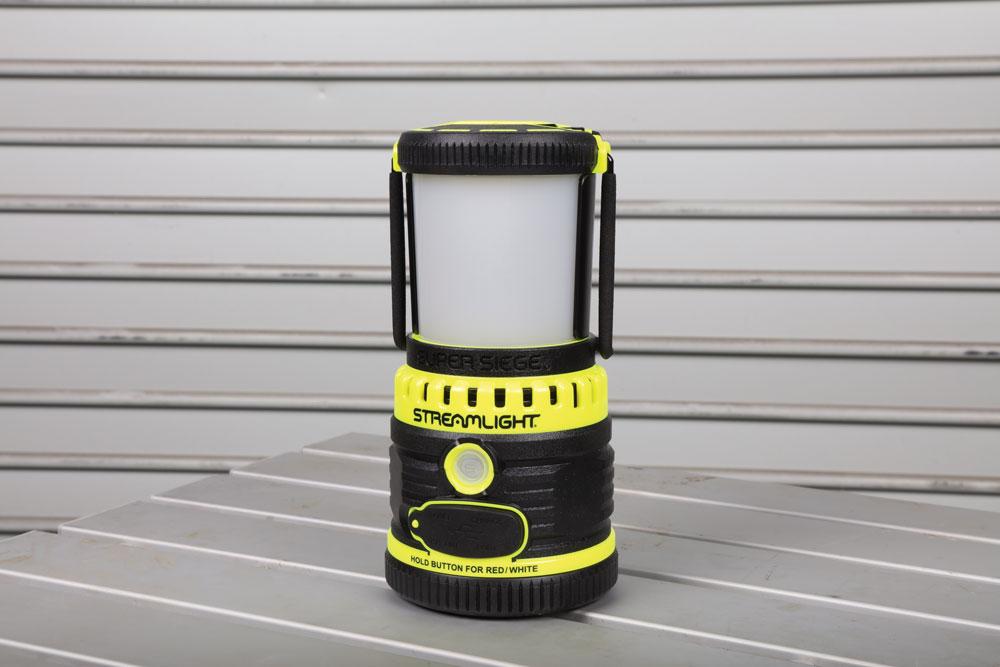 campsite lantern Streamlight Super Siege