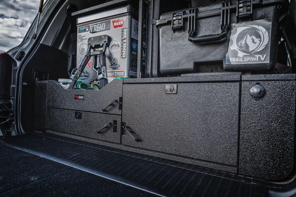 Toyota Land Cruiser 200 Series storage