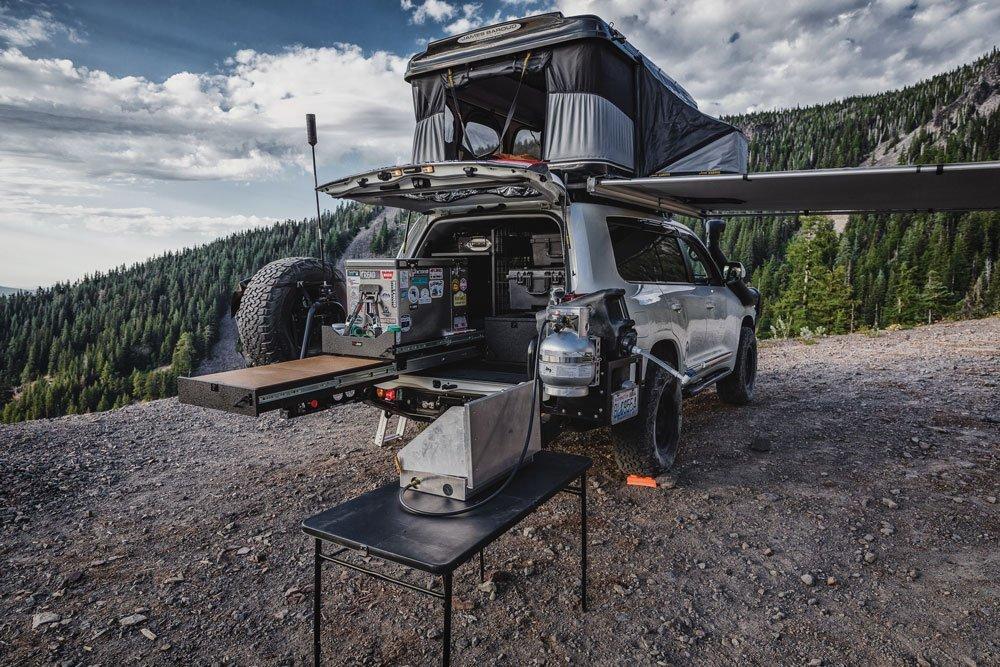 Toyota Land Cruiser 200 Series Trekboxx Alpha storage system