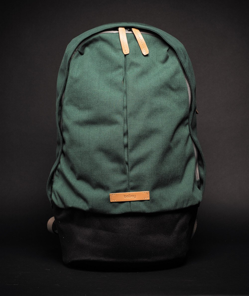 Bellroy Classic Backpack green front