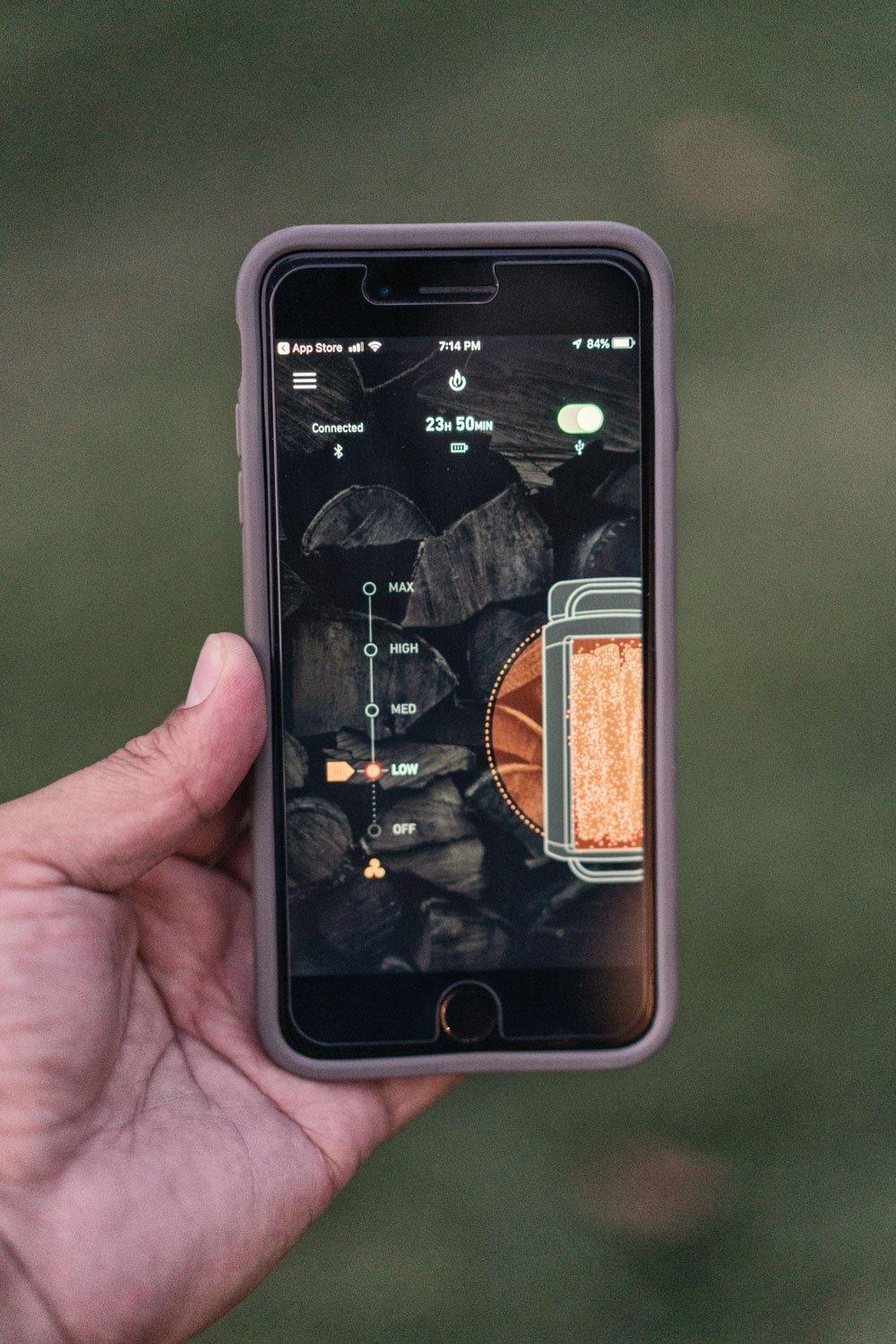 BioLite FirePit Bluetooth App
