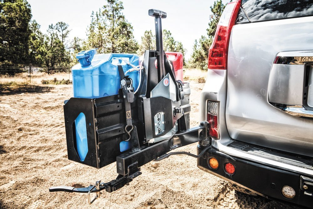 DMOS Delta Shovel mounted for travel