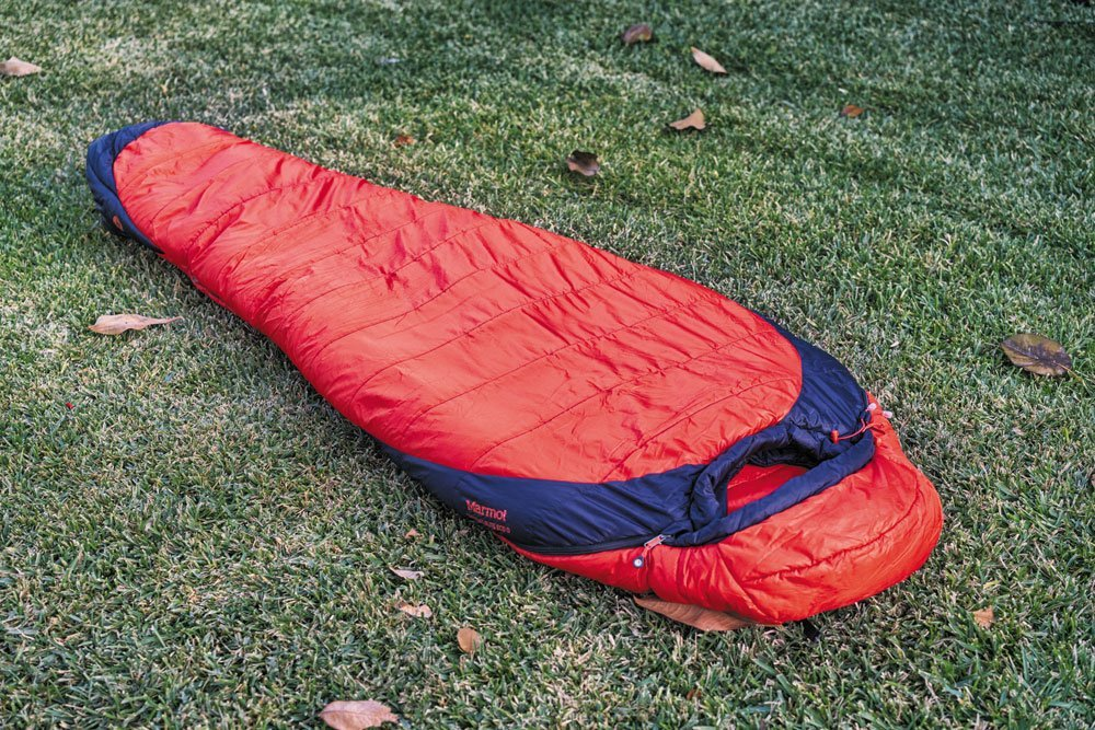 Marmot Trestles Elite winter sleeping bag red 0 degrees F