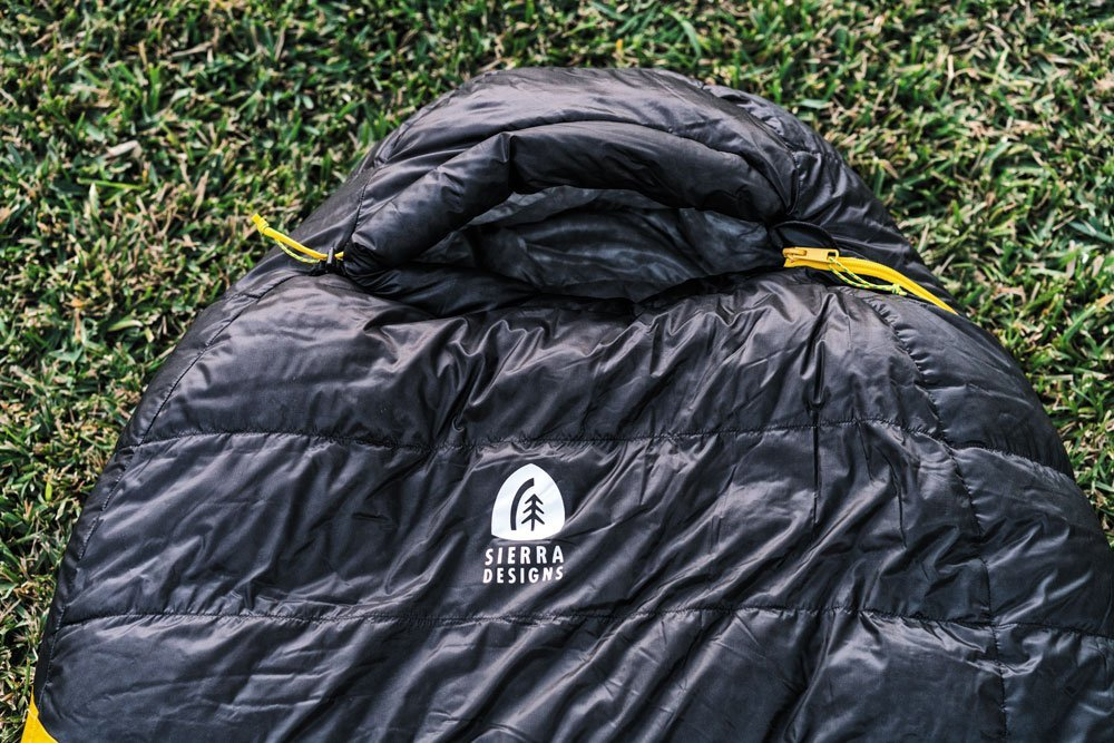 Sierra Designs Nitro zipped winter sleeping bag