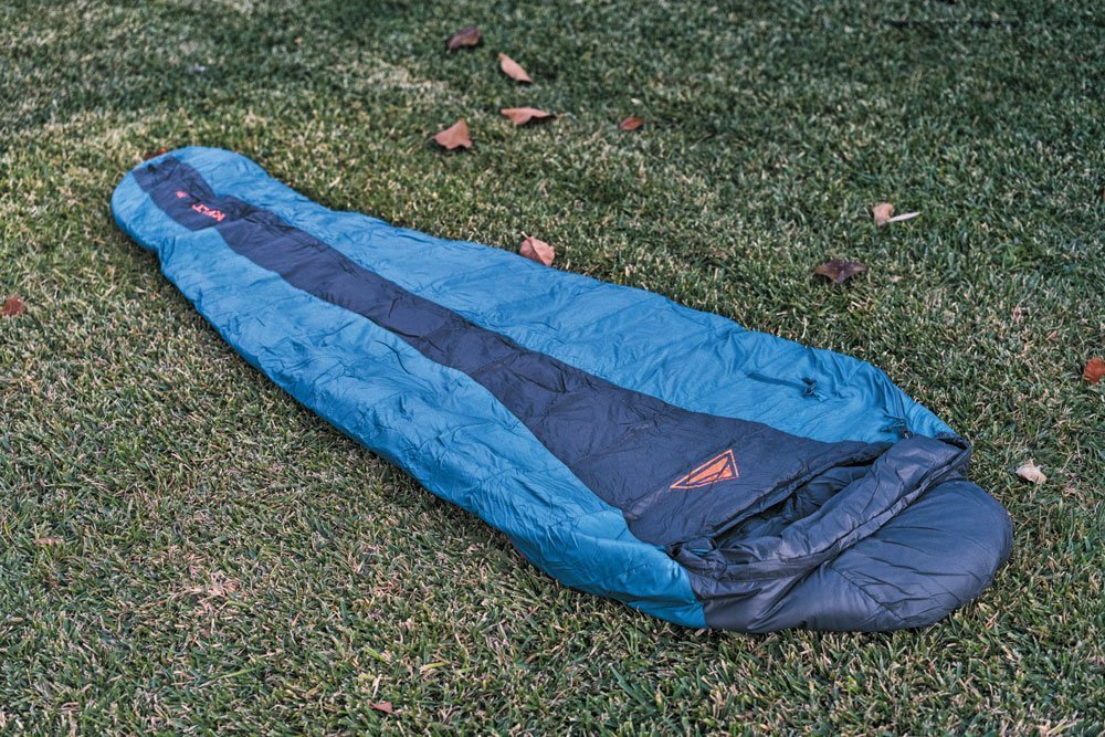 Kelty Cosmic Cool blue winter sleeping bag