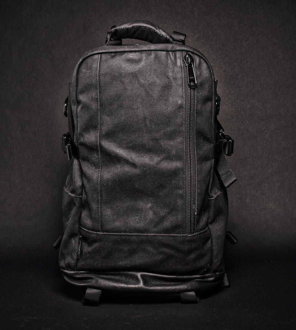DSPTCH Daypack black front