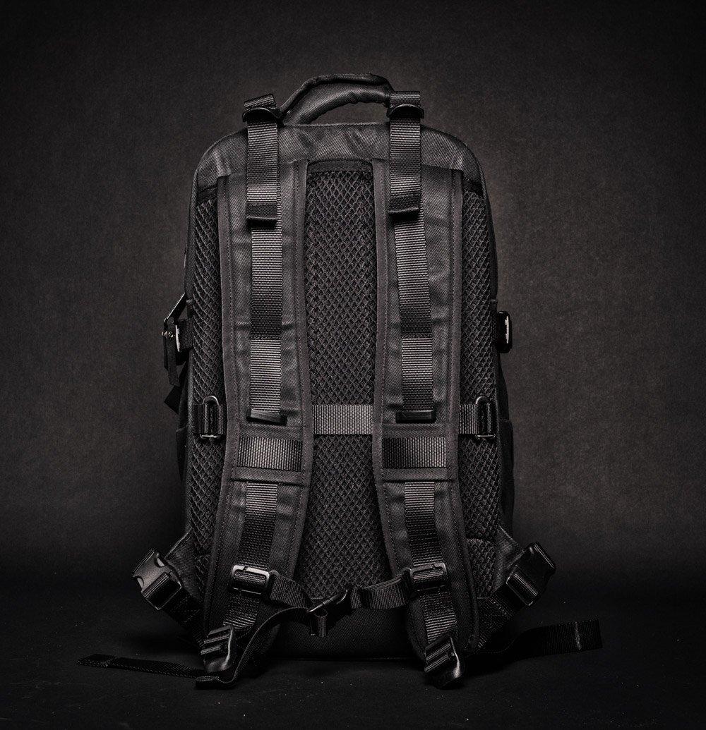 DSPTCH Daypack black back