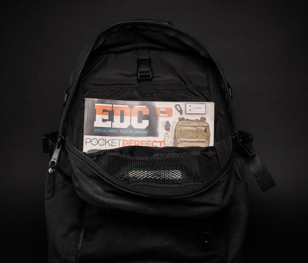 DSPTCH Daypack inside