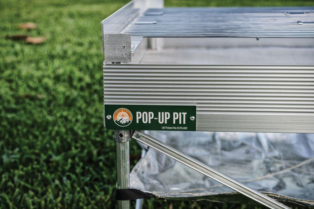 Pop-up Fire Pit Logo
