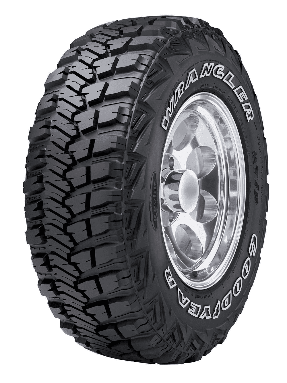 Goodyear/Wrangler M/T R Tire with KEVLAR