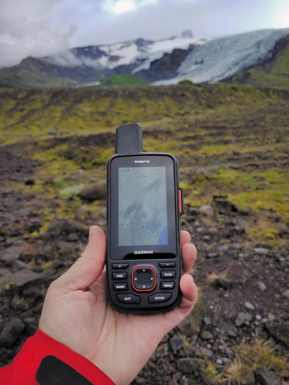 Garmin's GPSMAP 66i Handheld GPS