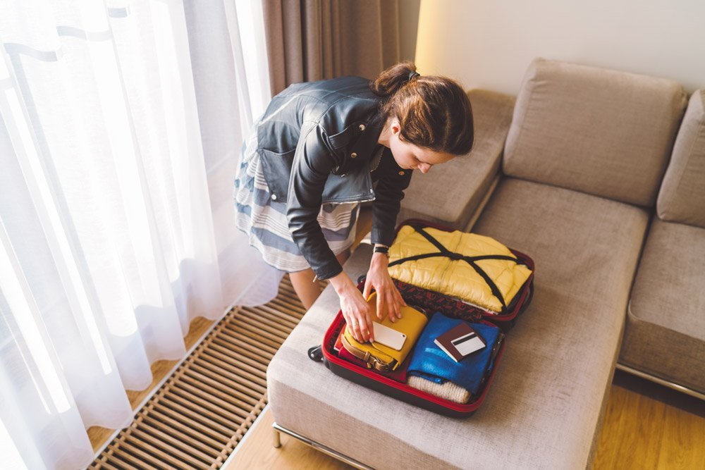 One-Bag Travel Packing Suitcase