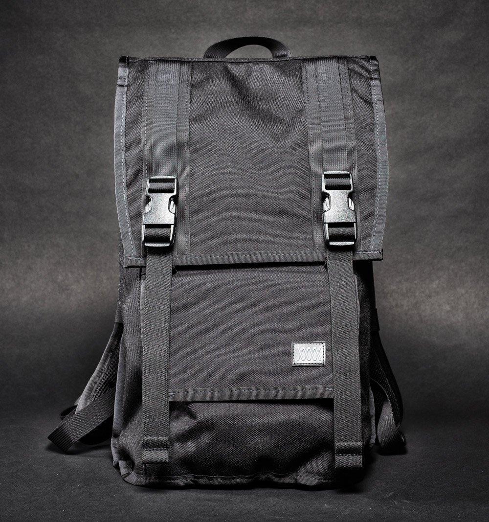 Mission Workshop The Fraction Backpack black front