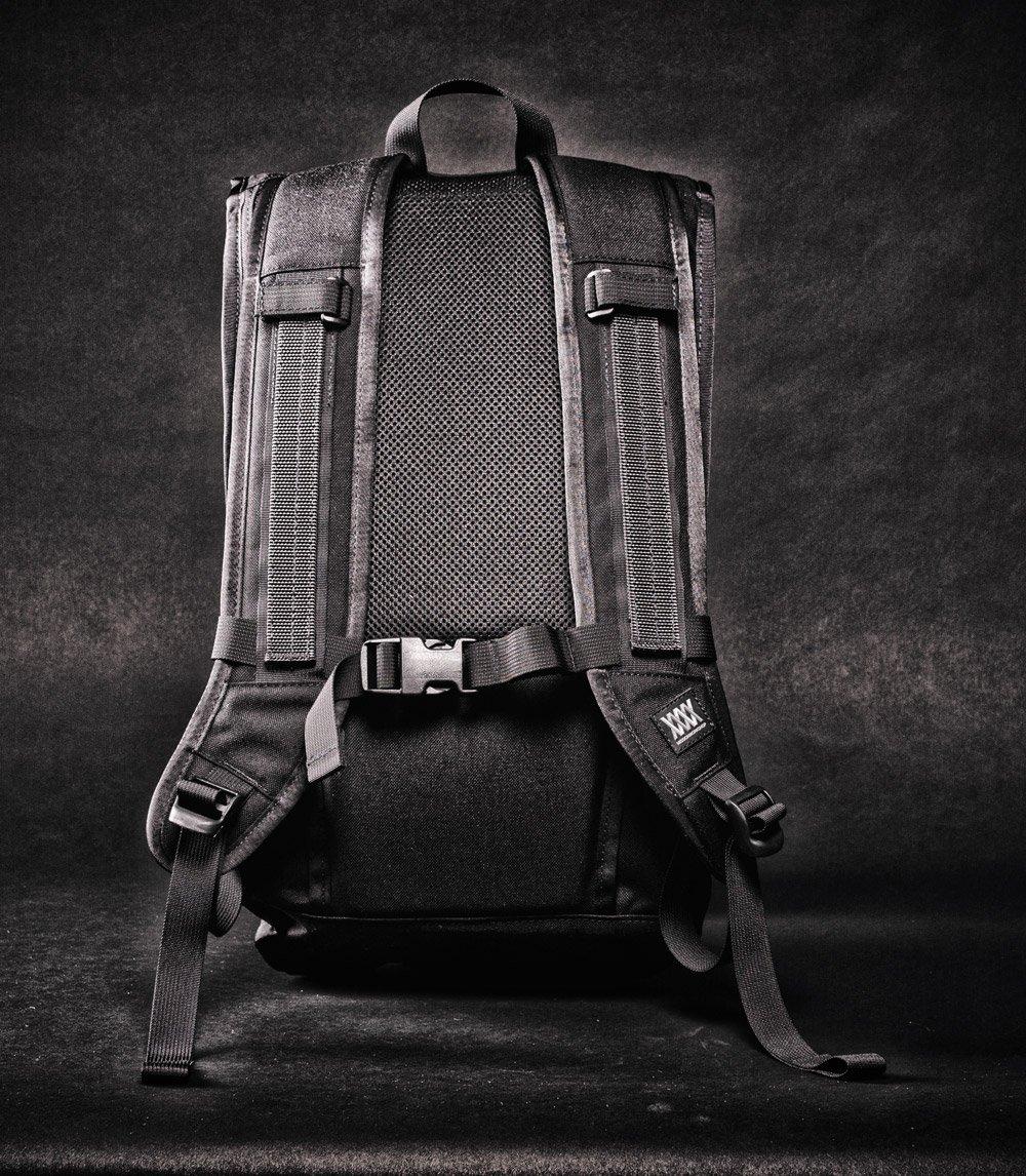 Mission Workshop The Fraction backpack black back