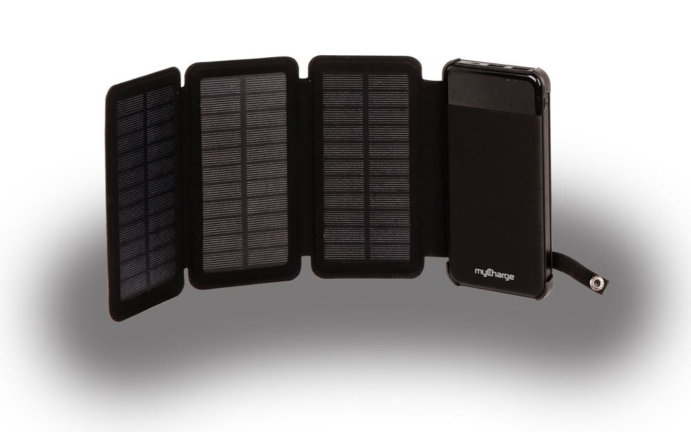 myCharge PowerFold Solar Camping Gear