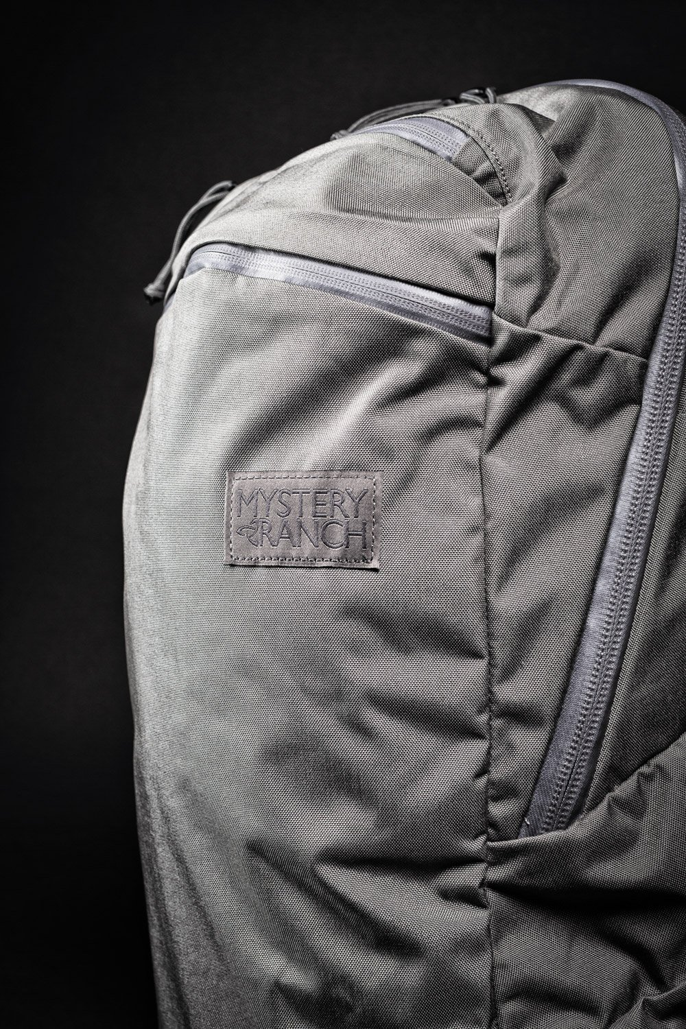 Mystery Ranch Prizefighter gray sideview