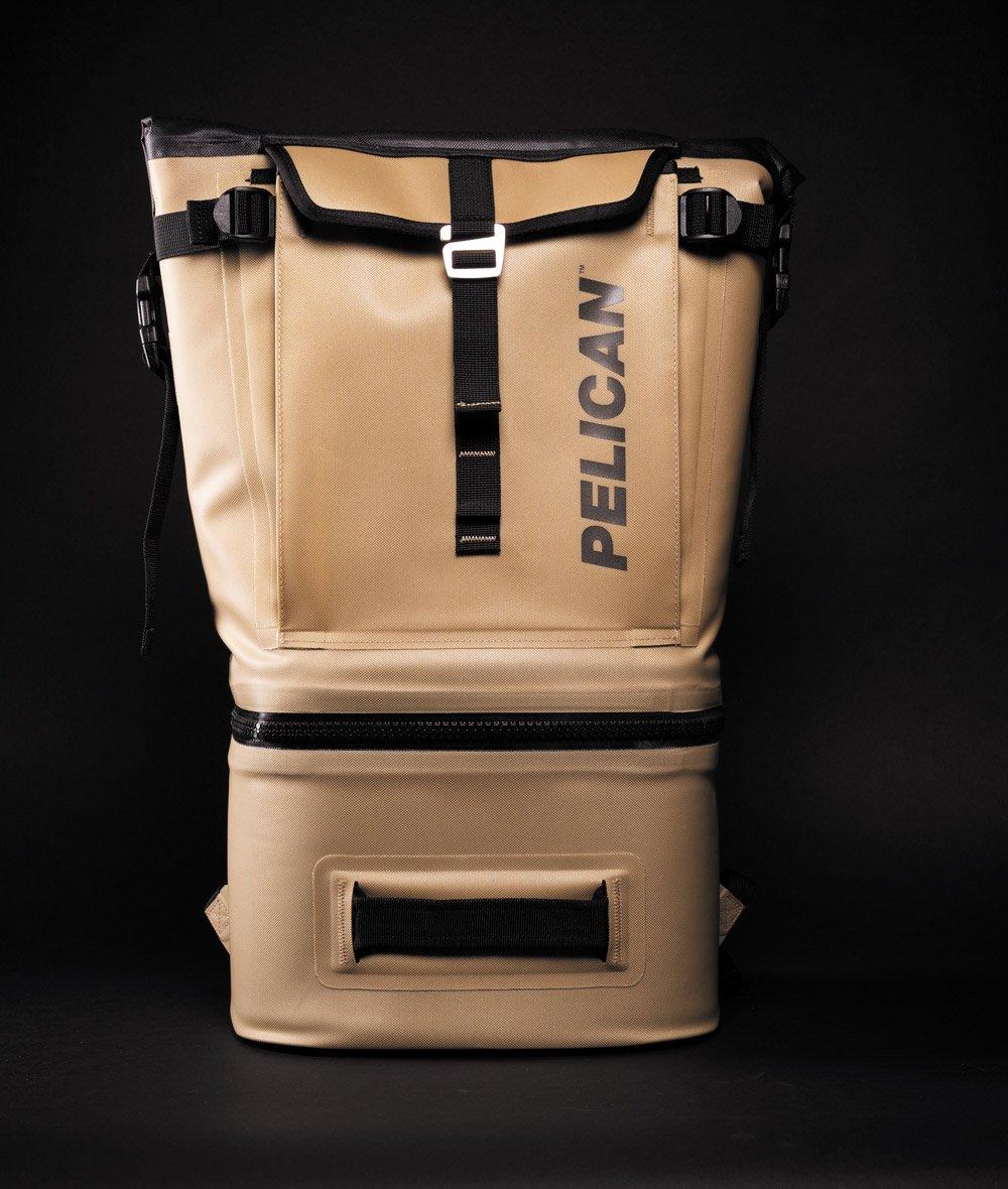 Pelican Dayventure Backpack Cooler gold front
