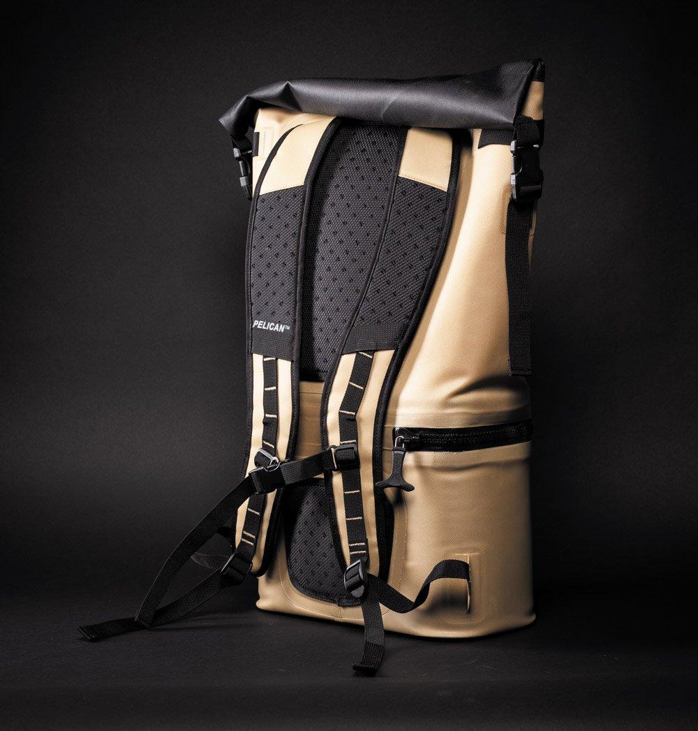 Pelican Dayventure Backpack Cooler gold back