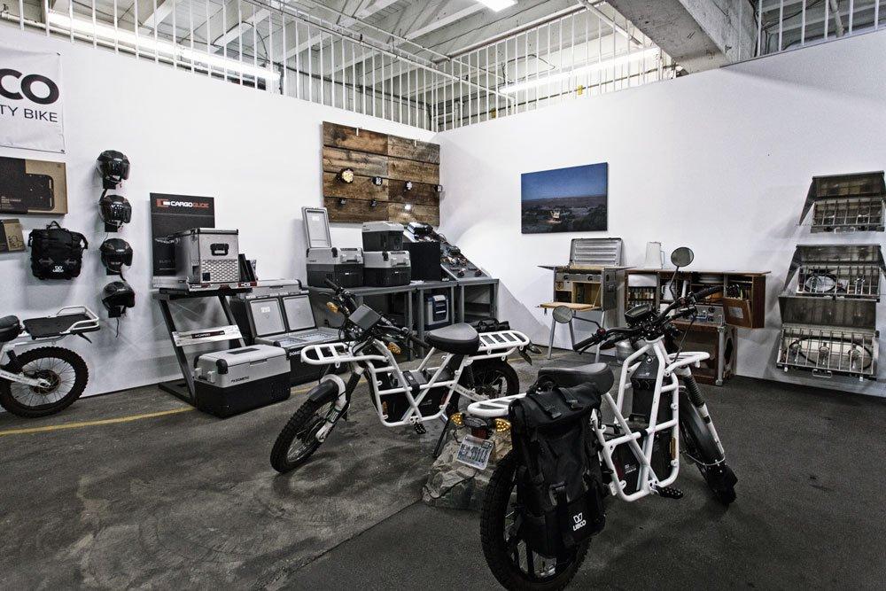 Adventure Ready showroom Ubco bikes