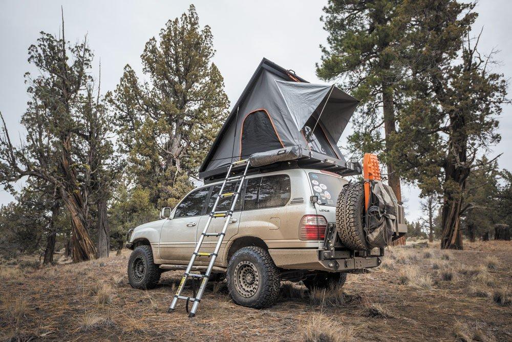 Lexus LX470 topside camper