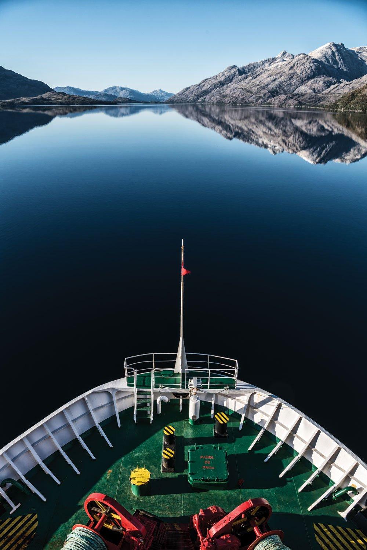 Ferry Ride South America