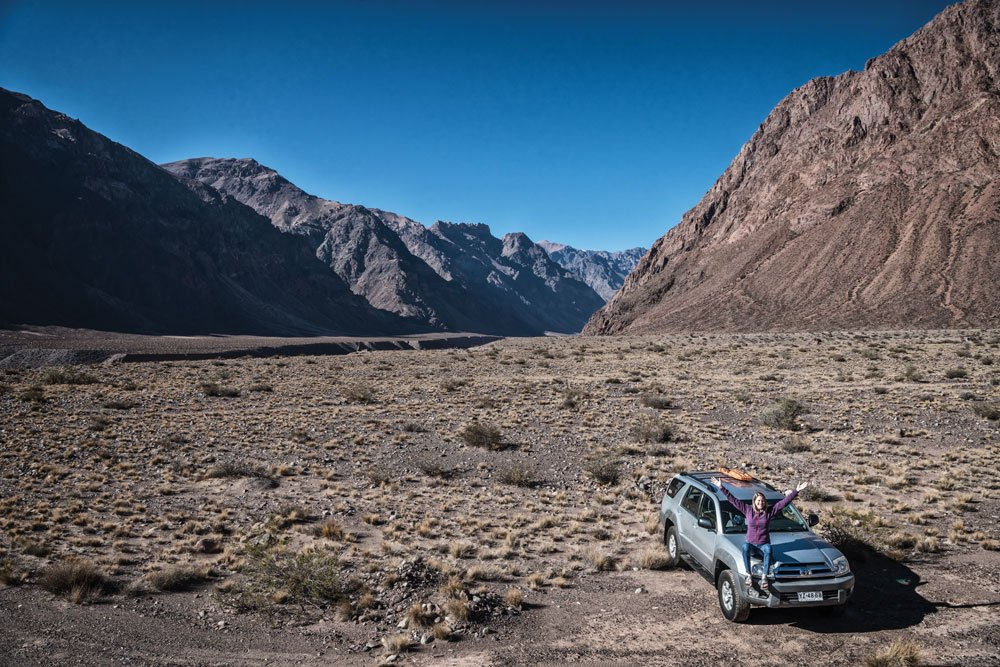 Overland Adventure in Andes with a 4Runner