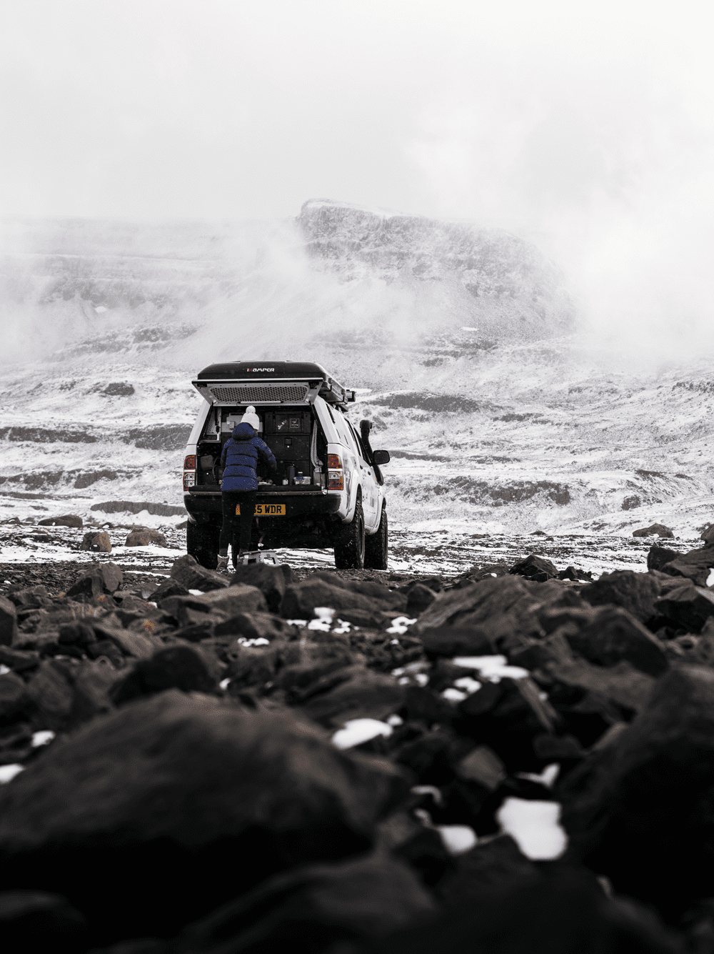 Southern Iceland 4WD camping journey