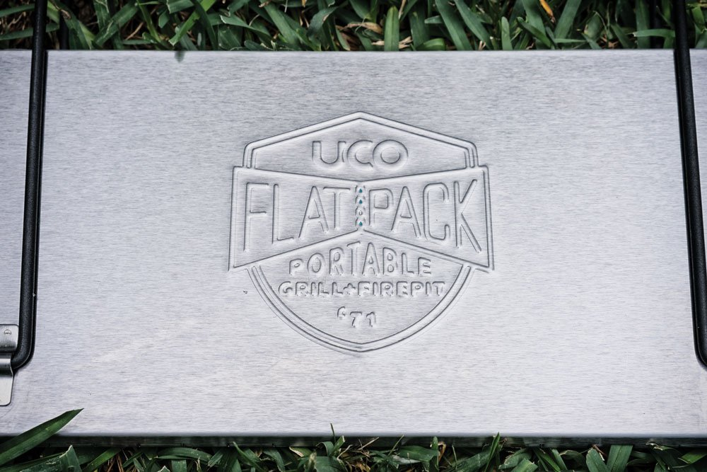 UCO FlatPack Portable Grill and Firepit Logo