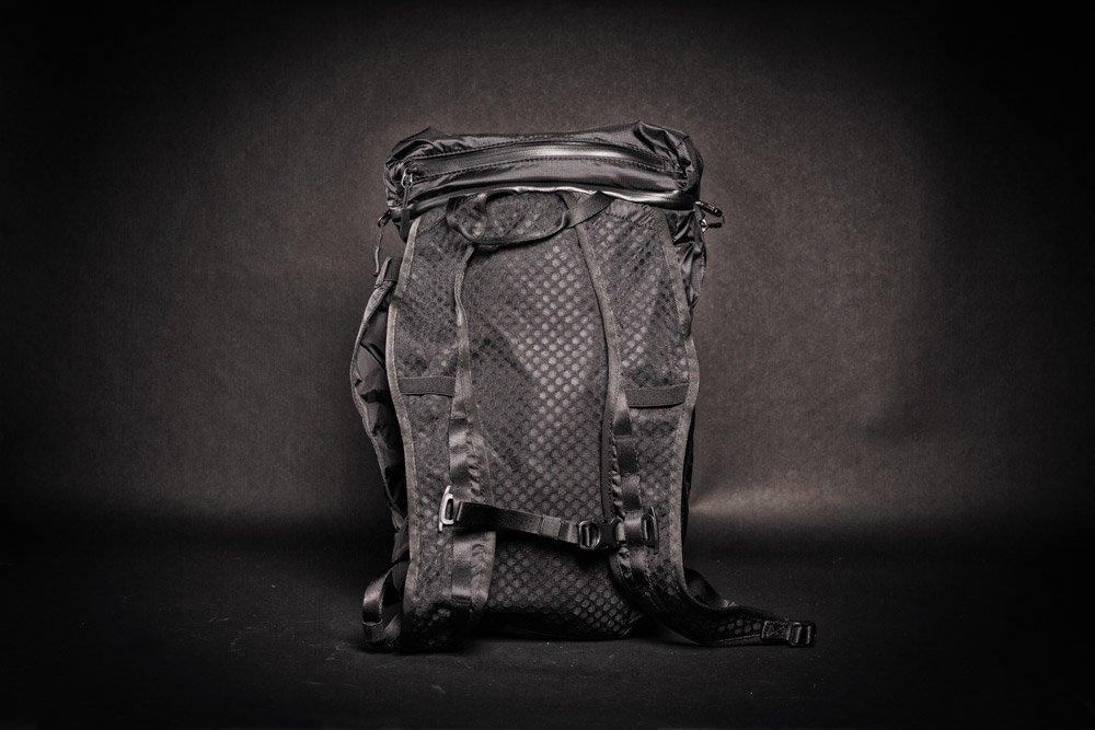 Wandrd VEER Packable Backpack black back