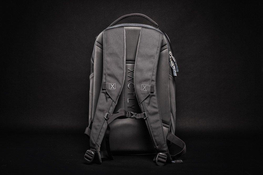 Xactly Oxygen 25 Backpack back