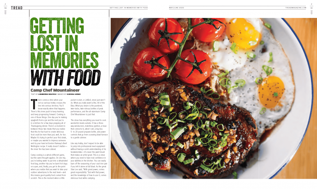 TREAD May/June 2020 Getting Lost in Memories with Food preview
