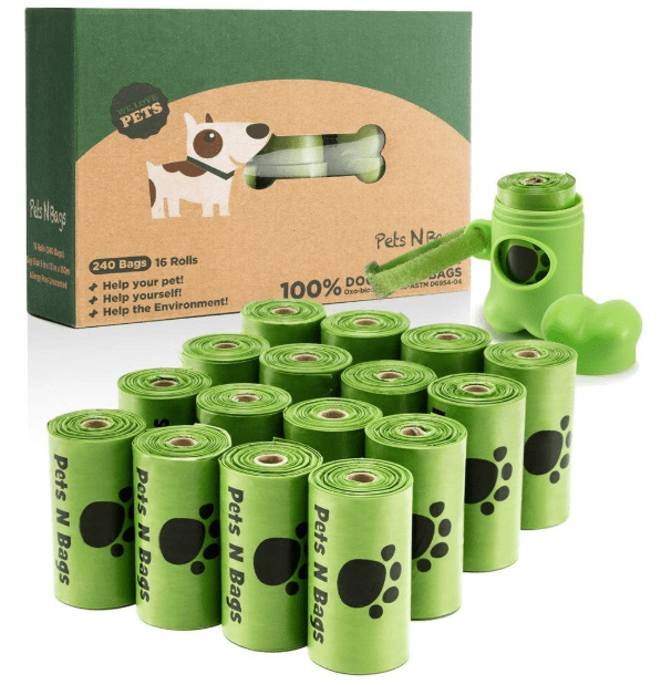 eco-friendly pet waste bags in camping essentials for dogs // tread magazine